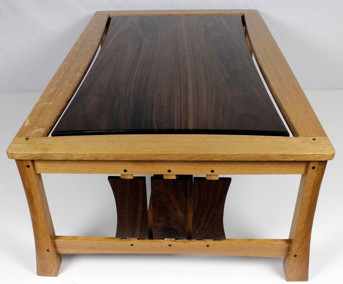 Modern Arts and Crafts coffee table