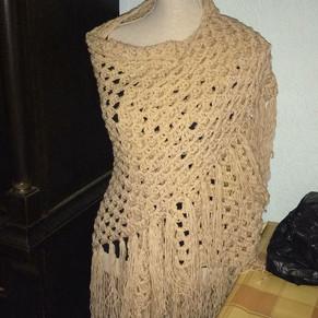 Beige shawl