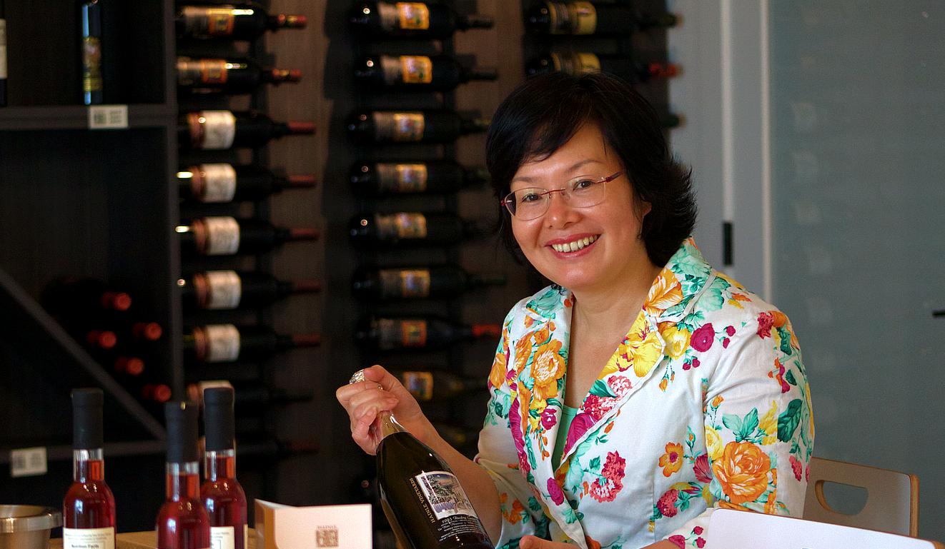 Bella Huang - Driector, Hainle Vineyards Estate Winery