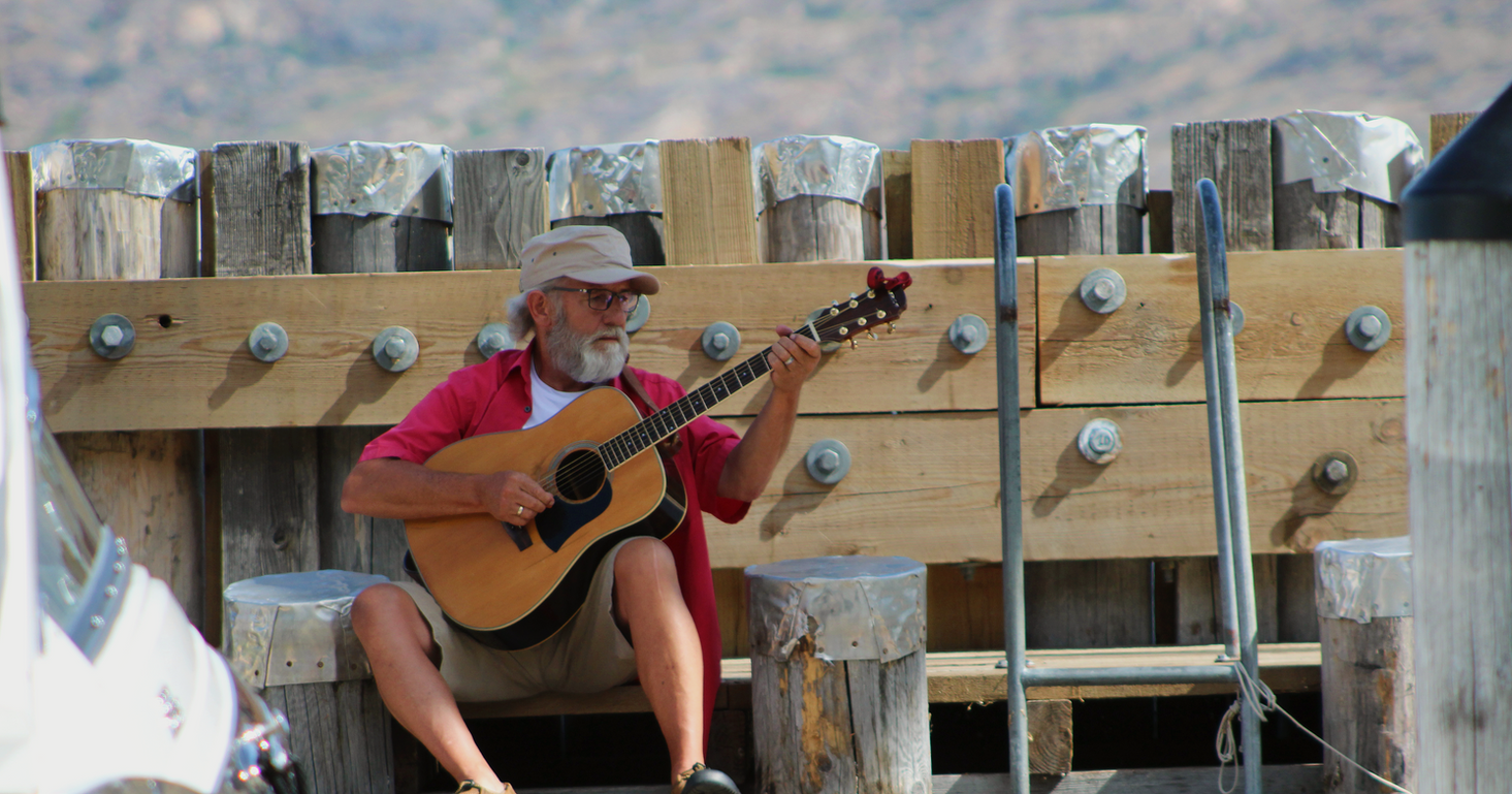 Keith 'Papa' Thom - Musician/Innkeeper, Lake Avenue Place B&B