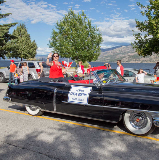 Canada Day with Mayor Cindy Fortin