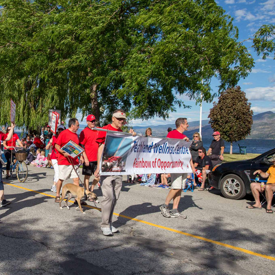 Canada Day Wellness Walk with the Peachland Wellness Centre