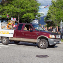 Canada Day celebrated by the Peachland Scarecrow Festival!