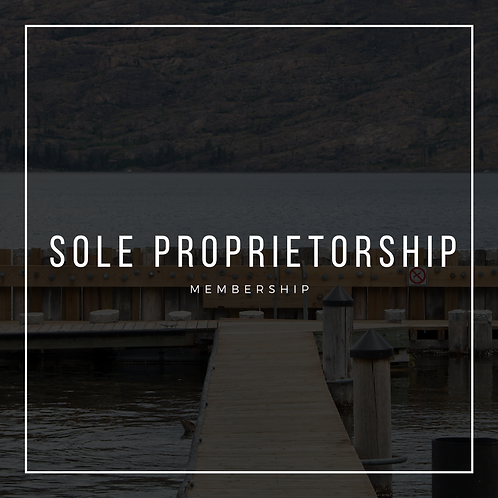 MEMBERSHIP - Sole Proprietorship