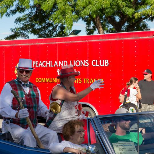 Canada Day with the Okanagan Town Crier & Mrs. TC! Oyez!