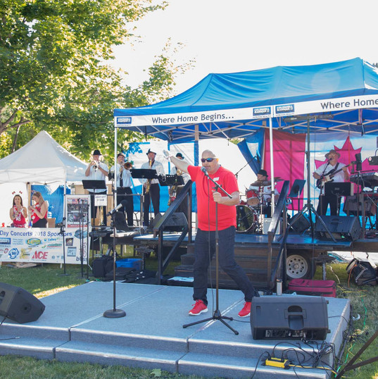 Canada Day Concerts with the Host/Event Organizer - Patrick Van Minsel