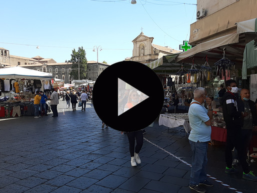 Catania, Fera 'o Luni reopens in full: order, access gates and little business