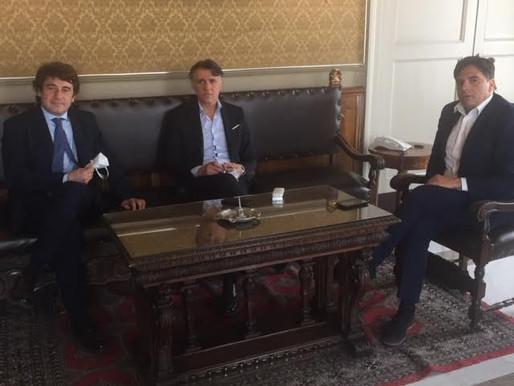 Catania Calcio, the mayor Pogliese: «Full support for the Pellegrino consortium»