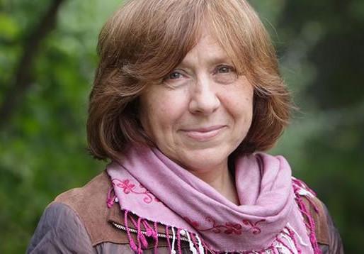 A SvetlanaAleksievič il Taobuk Award for Literary Excellence