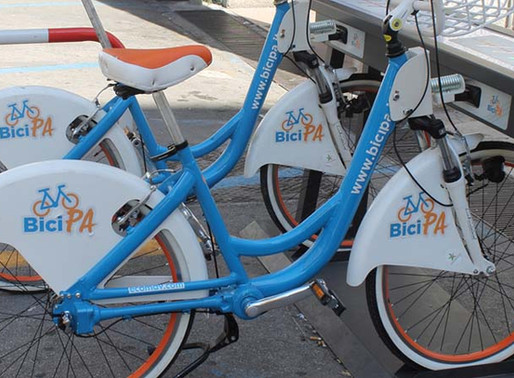 Palermo, more and more bike friendly, back to bike sharing and soon a new bike path