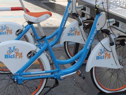 Palermo, more and more bike friendly, back to bike sharing and soon a new bike path