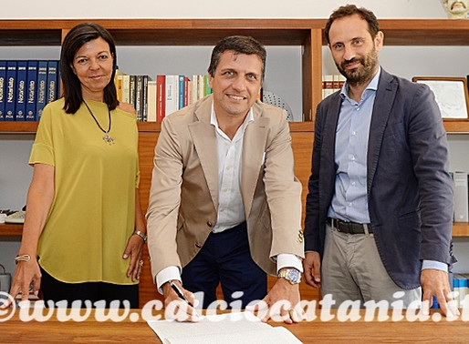 The deed of sale was signed, Calcio Catania club is officially of SIGI