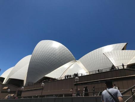 シドニーオペラハウス バックステージ