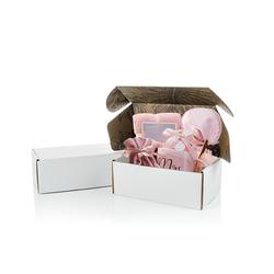 White Kraft Corrugated Box