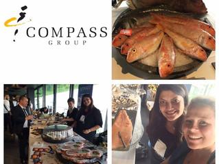 R&O Seafood Gastronomy au Showroom Compass
