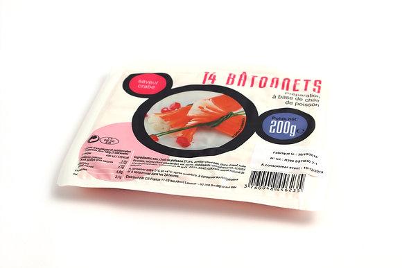 Bâtonnets de Surimi Saveur Crabe 200g