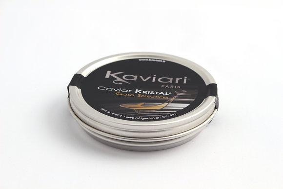 Caviar Schrenki Kristal Gold Selection d'Elevage 100g