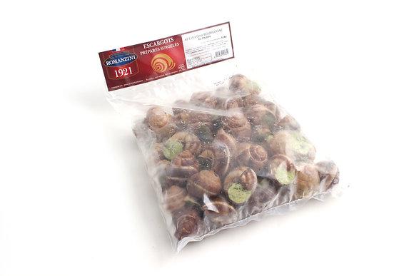 Escargots de Bourgogne Farcis Congelés Extra Gros 48 pièces