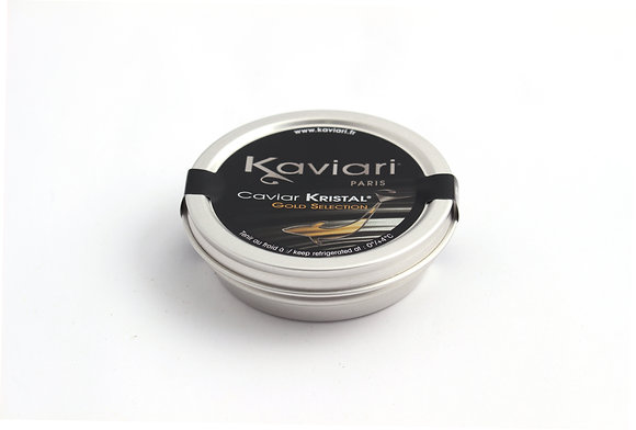 Caviar Schrenki Kristal Gold Selection d'Elevage 50g