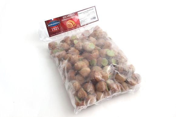 Escargots de Bourgogne Farcis Congelés Belle Grosseur 96 pièces