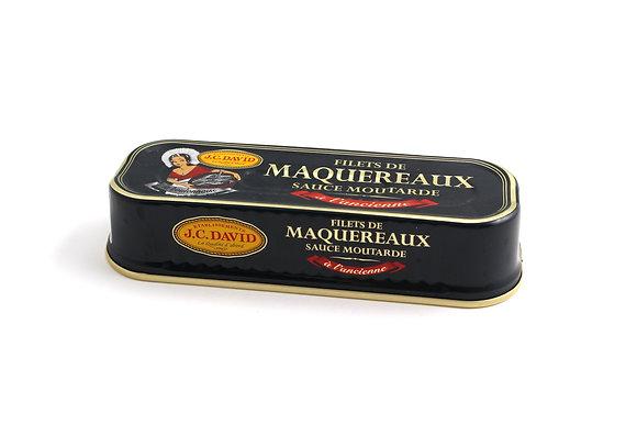 Filets de Maquereaux à l'Ancienne Sauce Moutarde