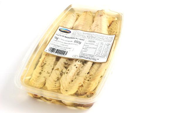 Filets de Maquereaux à l'Huile 1kg