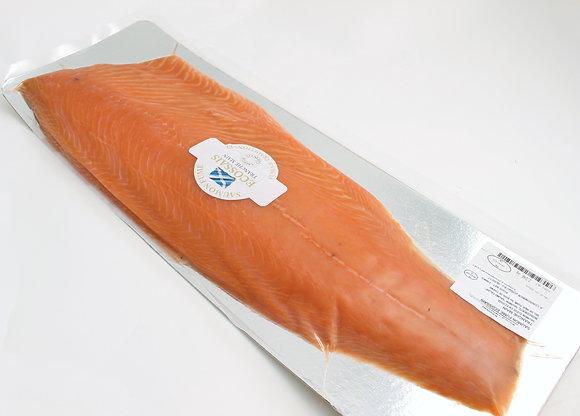 Saumon Sauvage Fumé Écossais Tranché Main Décongelé / 1.3kg/+