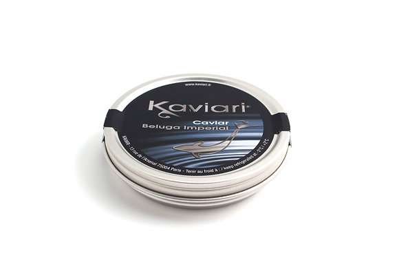 Caviar Beluga Imperial d'Elevage 100g