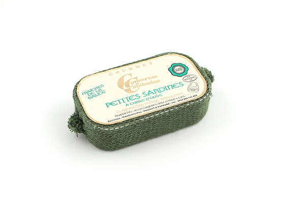 Petites Sardines à l'Huile d'Olive 111g