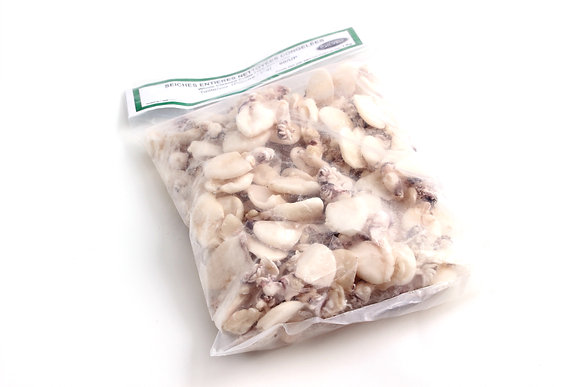 Seiches Nettoyées Congelées 40/+ 1kg