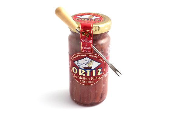Anchois à l'huile d'Olive avec Pic 95g