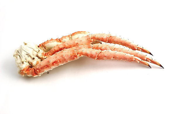 Pattes de Crabe Royal Congelées 1kg/+ / Environ 20kg