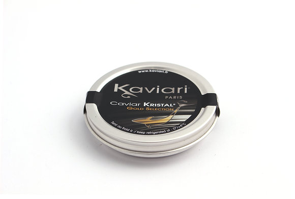 Caviar Schrenki Kristal Gold Selection d'Elevage 30g