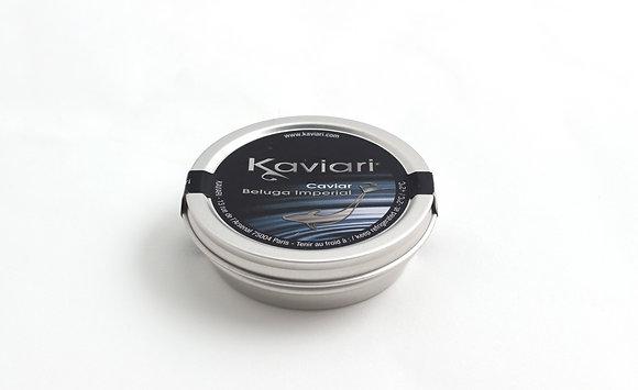 Caviar Beluga Imperial d'Elevage 50g