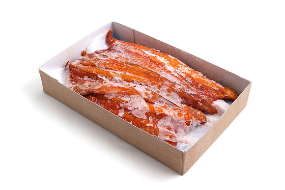 Filets de Lieu Noir Fumé Interleaved Congelés 150/300g / 3.18kg