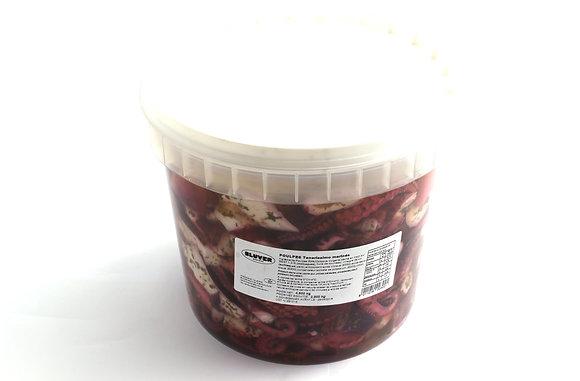 Salade de Poulpe Mariné en Seau Décongelé 4.6kg