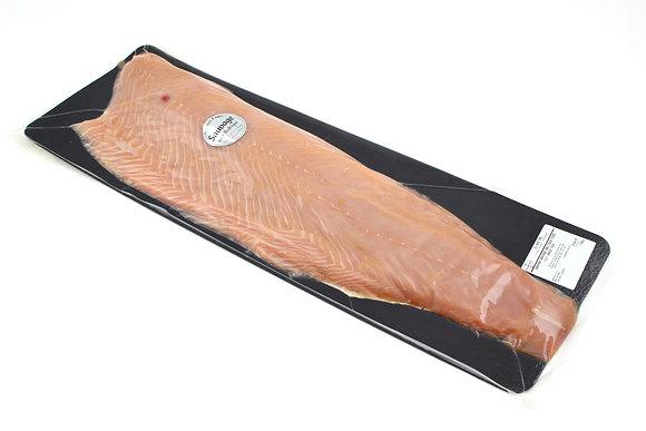 Saumon Sauvage Fumé de la Mer Baltique Tranché Main Décongelé 1.5kg/+