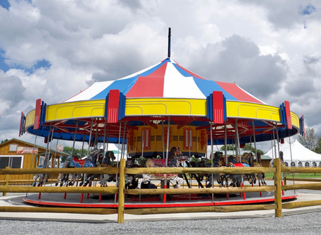 Go for a spin on Lakeland's Carousel