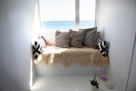Yes please! The sea is all yours from the dreamiest window seat