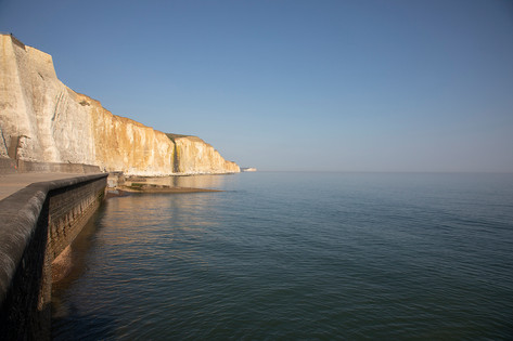 Stroll along the protected undercliff walkway for the happiest walks (or cycles, jogs or dog-walks)