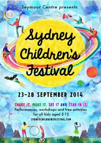 Sydney Children's Festival program guide