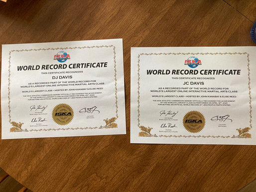 World Record Set in 2020