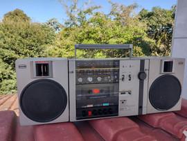 Rádio cassete recorder 2x1 CCE 0,26 x 0,