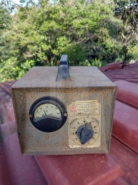 Transformador de voltagem antigo 0,16 x