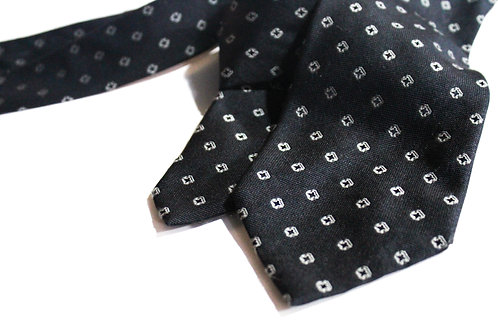 Giorgio Armani Steel Blue Necktie