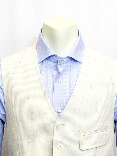 Flynt Cream Stripe Vest