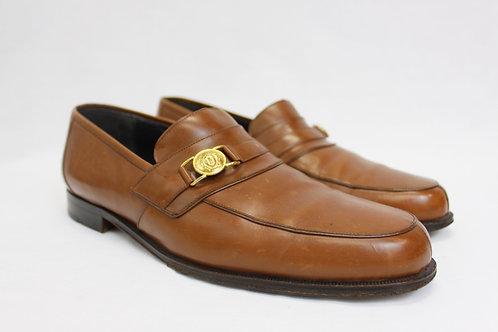 Versace Cognac Loafers