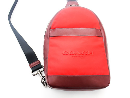 Coach Back Pack w/Zipper Closure Small