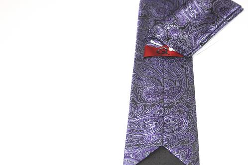 Brand Q Paisley Necktie