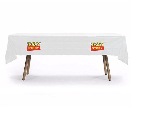 Toy Story Plastic Table Cover with Stickers - 140 cm x 275cm